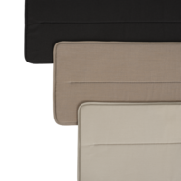 Linear Steel Bench - Seat Pad Grijs