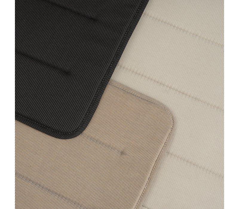 Linear Steel Chair - Seat Pad Warm Beige
