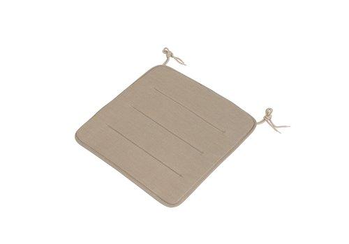 Muuto Linear Steel Chair - Seat Pad Warm Beige