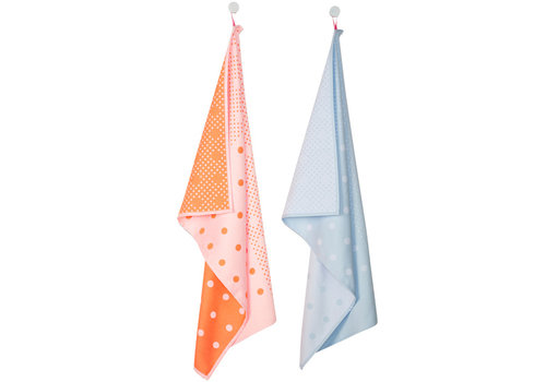 Hay Tea Towels Dots 2pcs