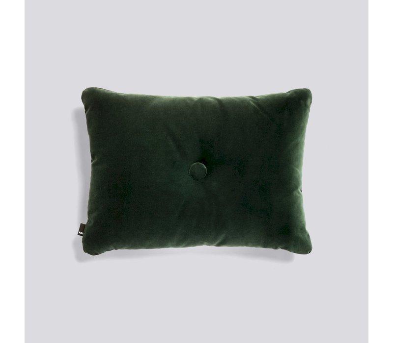 Dot Kussen Soft Dark Green