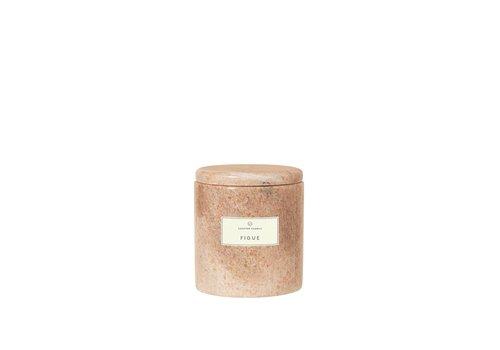 Blomus Marmeren geurkaars Frable - Figue