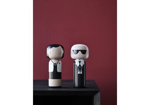 Lucie Kaas Kokeshi Doll Karl & Coco