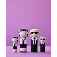 Kokeshi Doll Karl & Coco