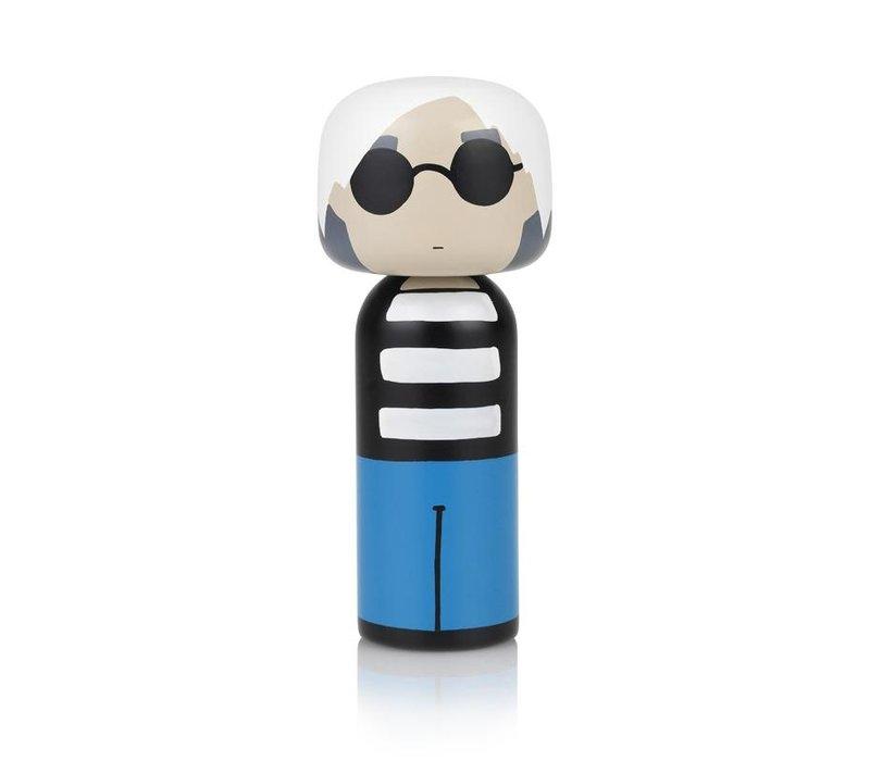 Kokeshi Doll Andy Warhol