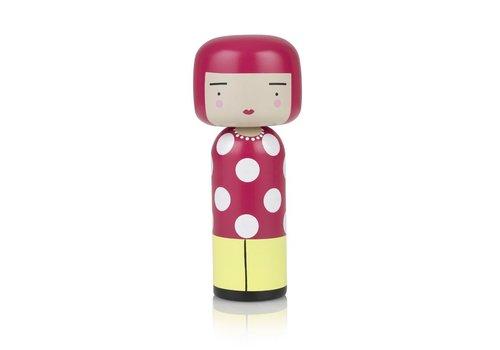 Lucie Kaas Kokeshi Doll Dot