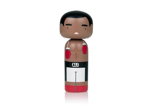 Lucie Kaas Kokeshi Doll Muhammad Ali