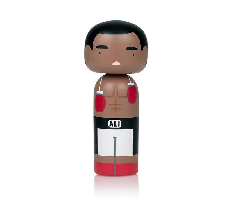Kokeshi Doll Muhammad Ali