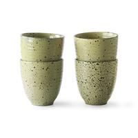 Gradient Ceramic - Mug yellow (4 stuks)