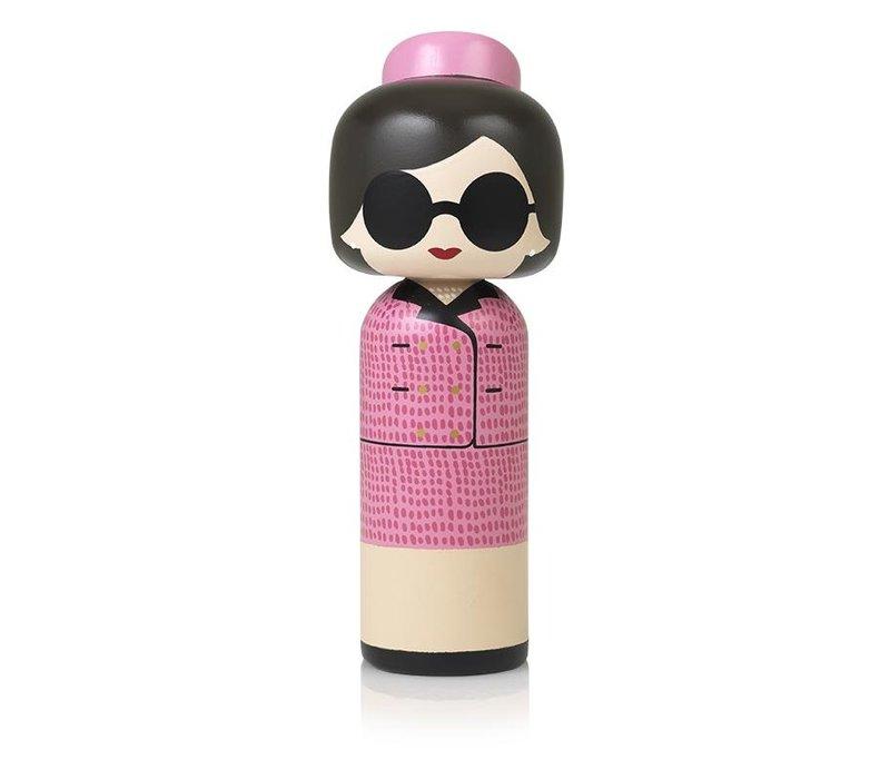 Kokeshi Doll Jackie Kennedy