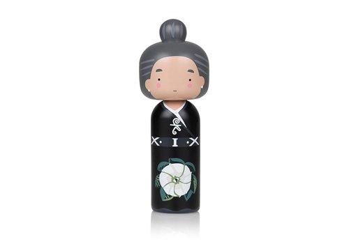 Lucie Kaas Kokeshi Doll Georgia O'Keeffe