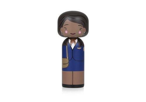 Lucie Kaas Kokeshi Doll Jackie Brown