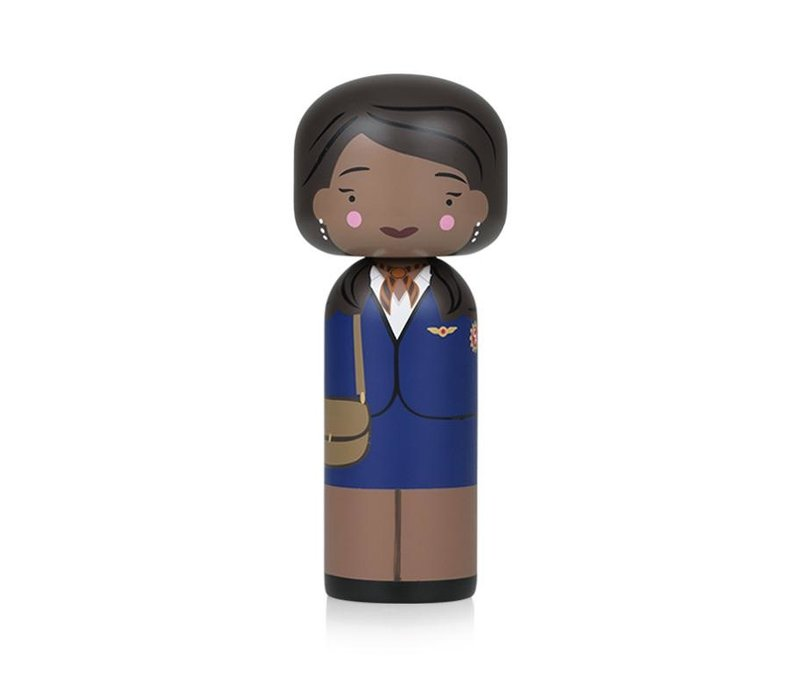 Kokeshi Doll Jackie Brown