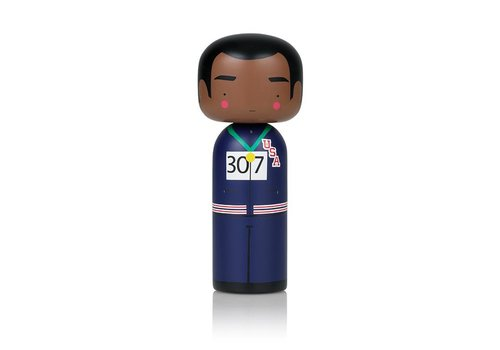 Lucie Kaas Kokeshi Doll Tommie Smith