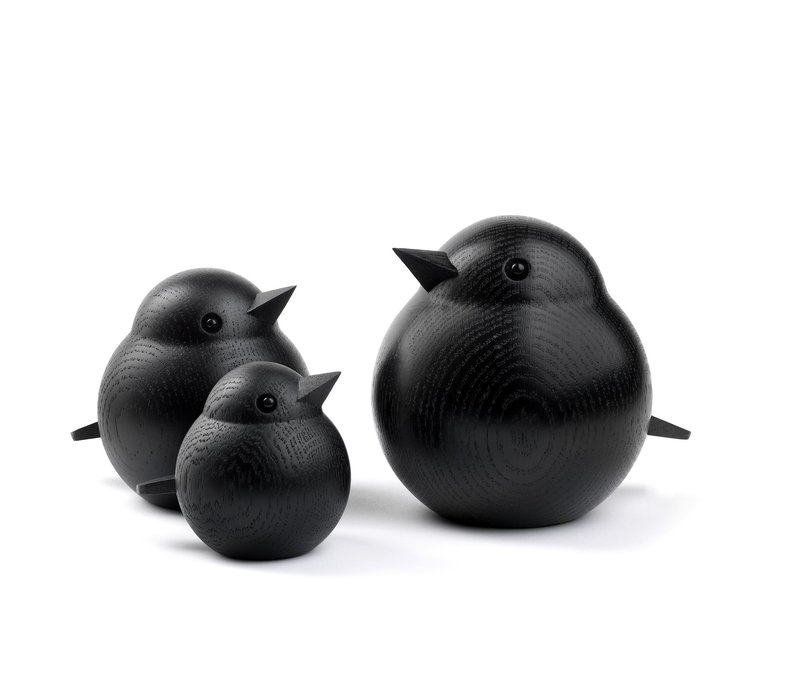 Small Sparrow Black