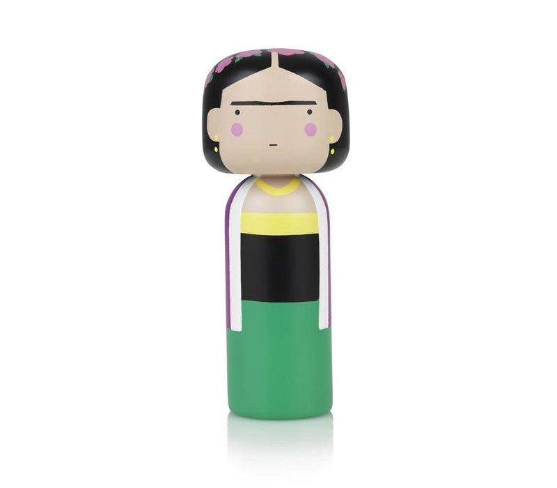 Kokeshi Doll Frida Khalo