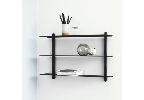 Gejst Nivo A shelf Black Ash/Black