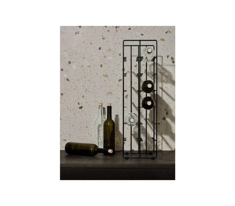 Pilare Wijnrek Zwart - 12 Flessen