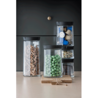 Glazen Opbergpot - 1,5 liter