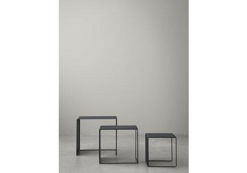 Ferm Living  Set Cluster Tables - Zwart