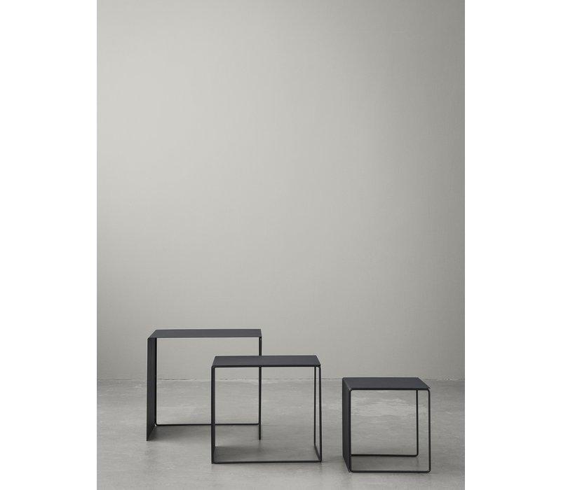 Set Cluster Tables - Zwart