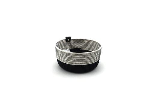 Koba Handmade Mandjes Zwart/Wit