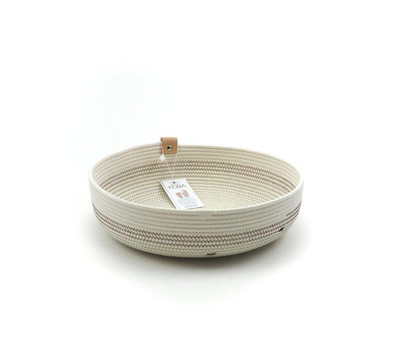 Handmade Mandjes BohoBruin