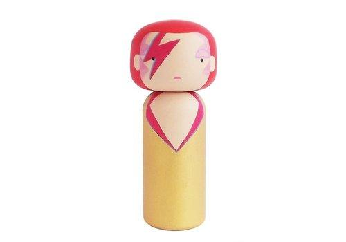 Lucie Kaas Kokeshi Doll Ziggy