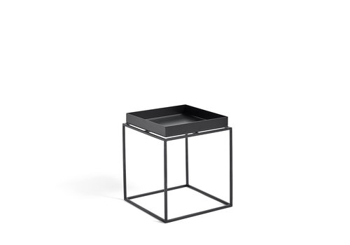 Hay Tray Table Zwart Bijzettafel