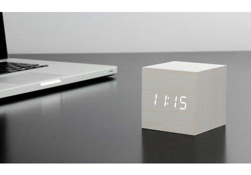 Gingko Cube Click Clock Alarm