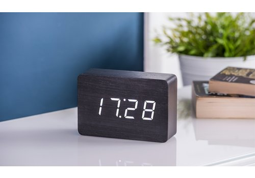 Gingko Brick Click Clock Alarm