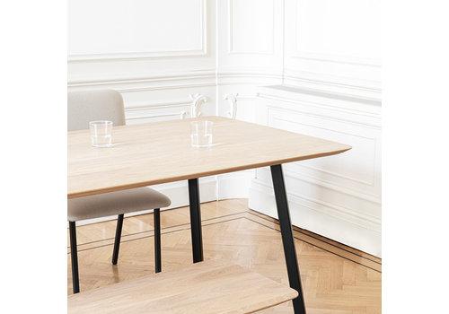Studio Henk Eettafel New Classic - Eik/Zwart
