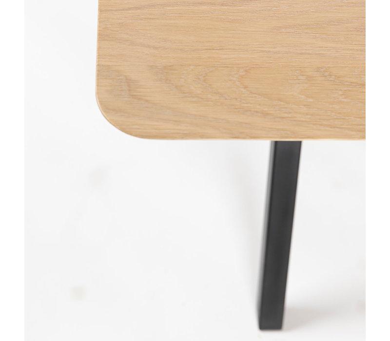 Eettafel Slim Co - Eik/Wit