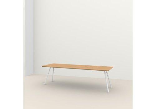 Studio Henk Eettafel Slim Co - Eik/Wit