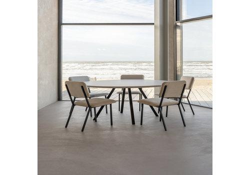 Studio Henk Eettafel Rond New Classic - Eik/Wit