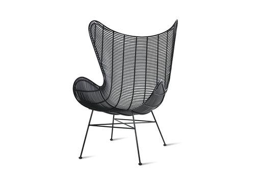 HKliving Rotan Egg Chair
