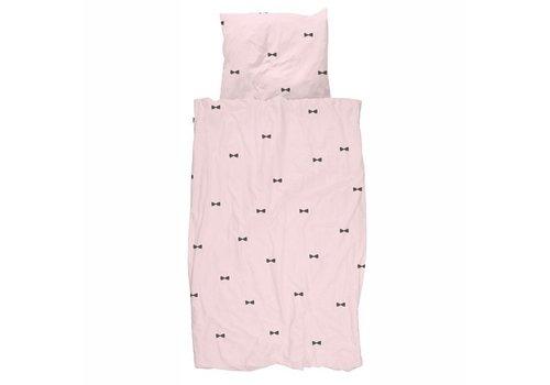 Snurk Dekbed - 1 persoons - Strikje Roze