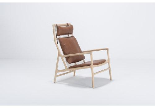 Gazzda Dedo Lounge Chair Cognac