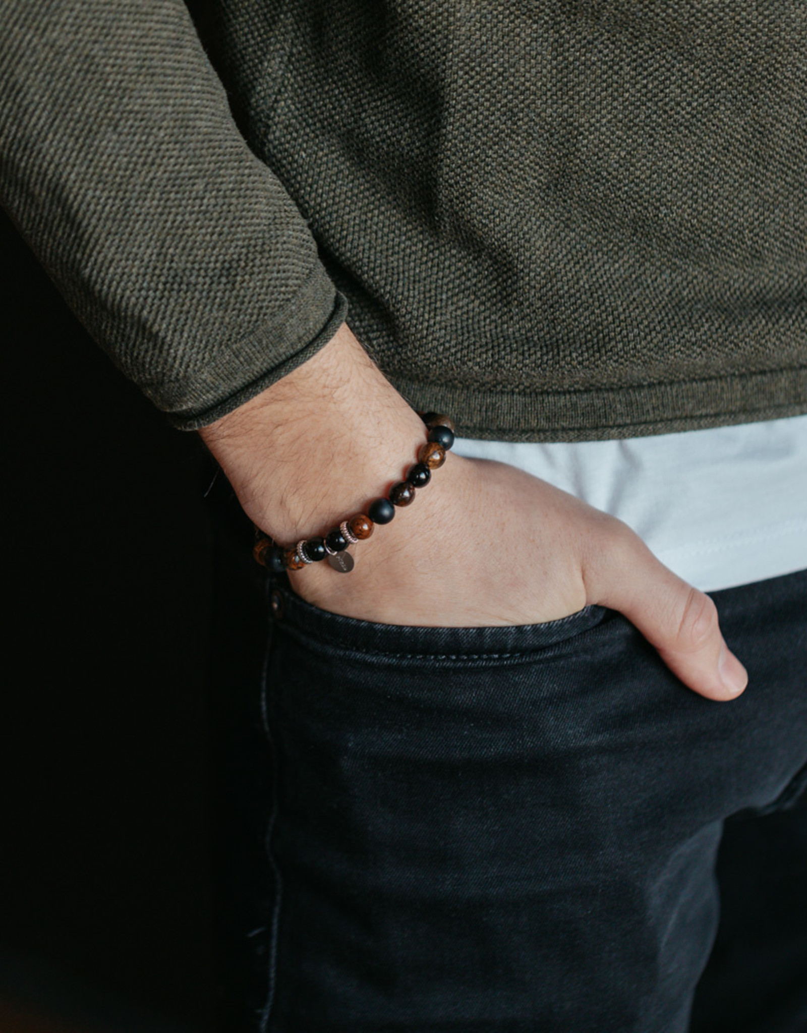 Armkette TARIFA, glanz/matt