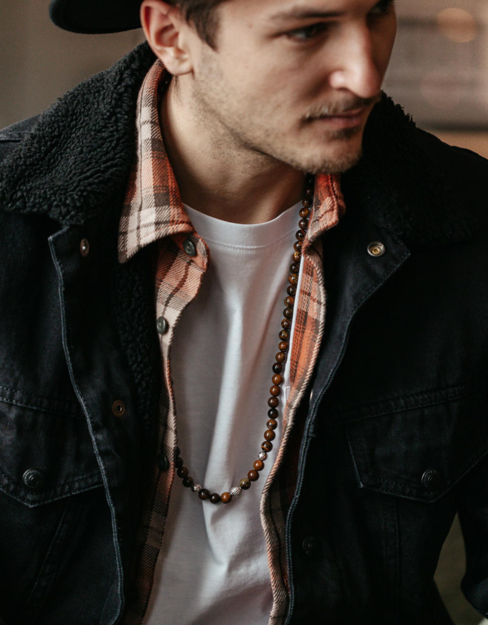 Halskette MEDAN, glanz – one size