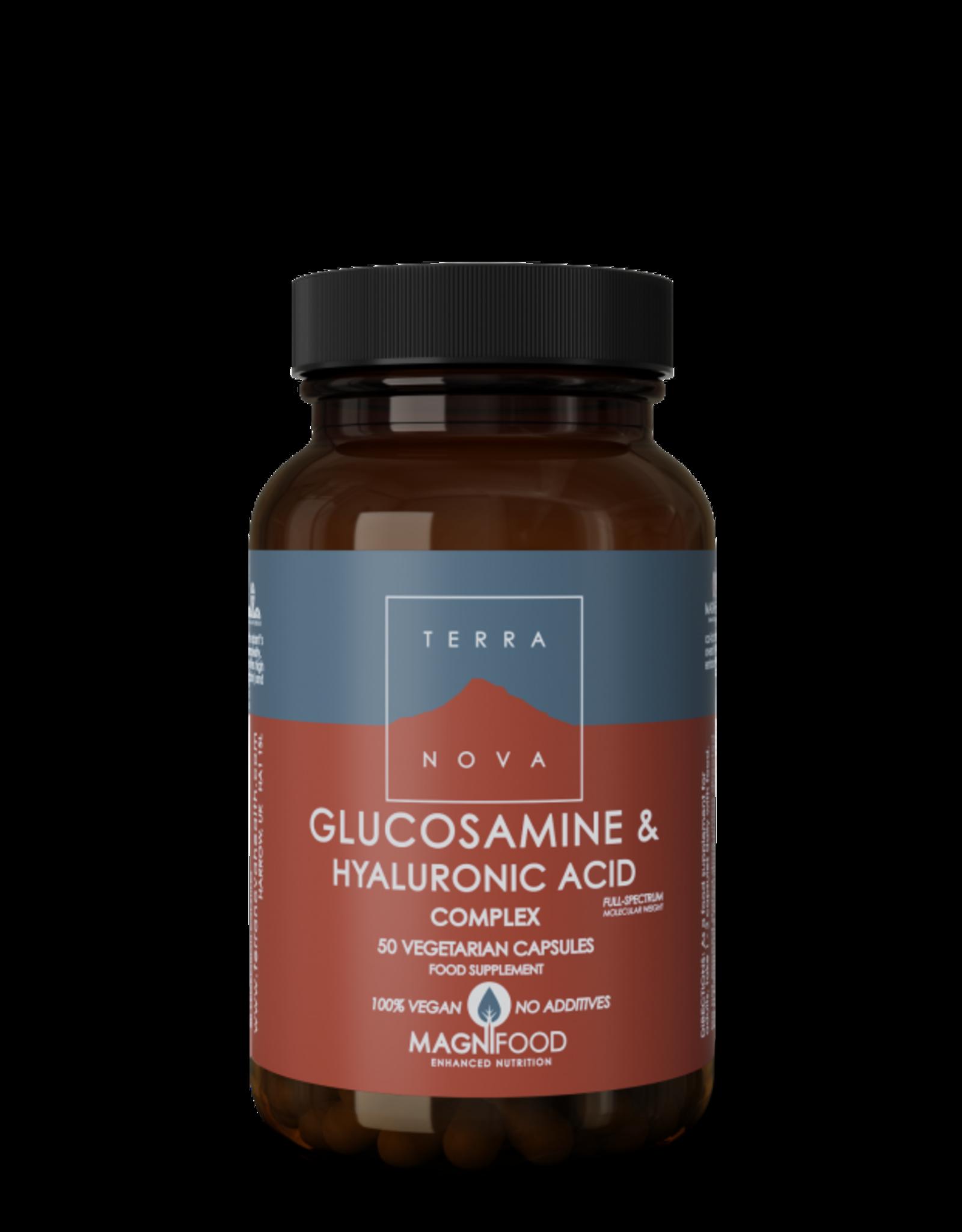Terranova Glucosamine & Hyaluronic Acid Complex | 100