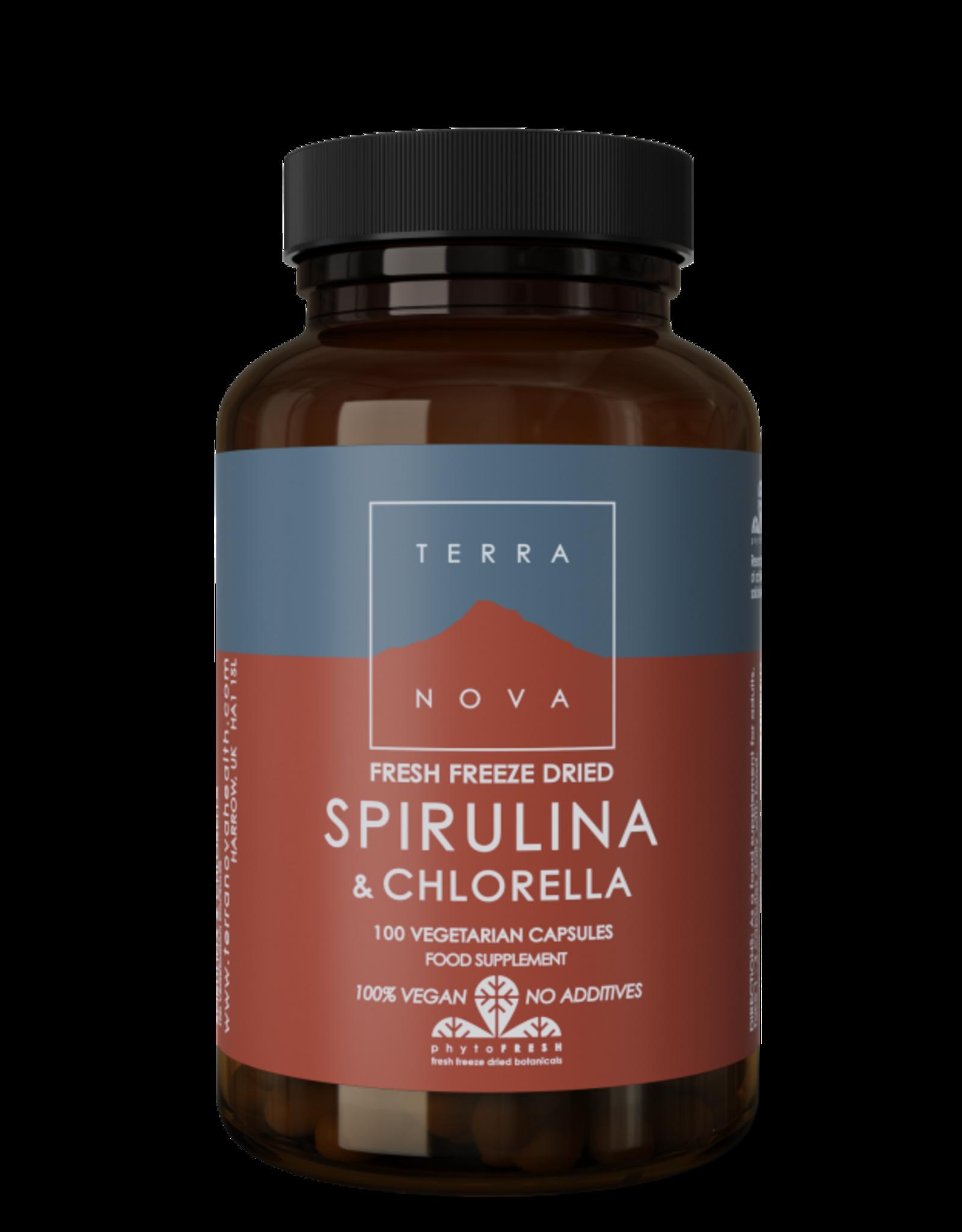 Terranova Spirulina & Chlorella | 100