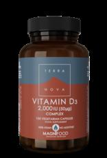 Terranova Vitamine D3 2000Iu Complex | 100