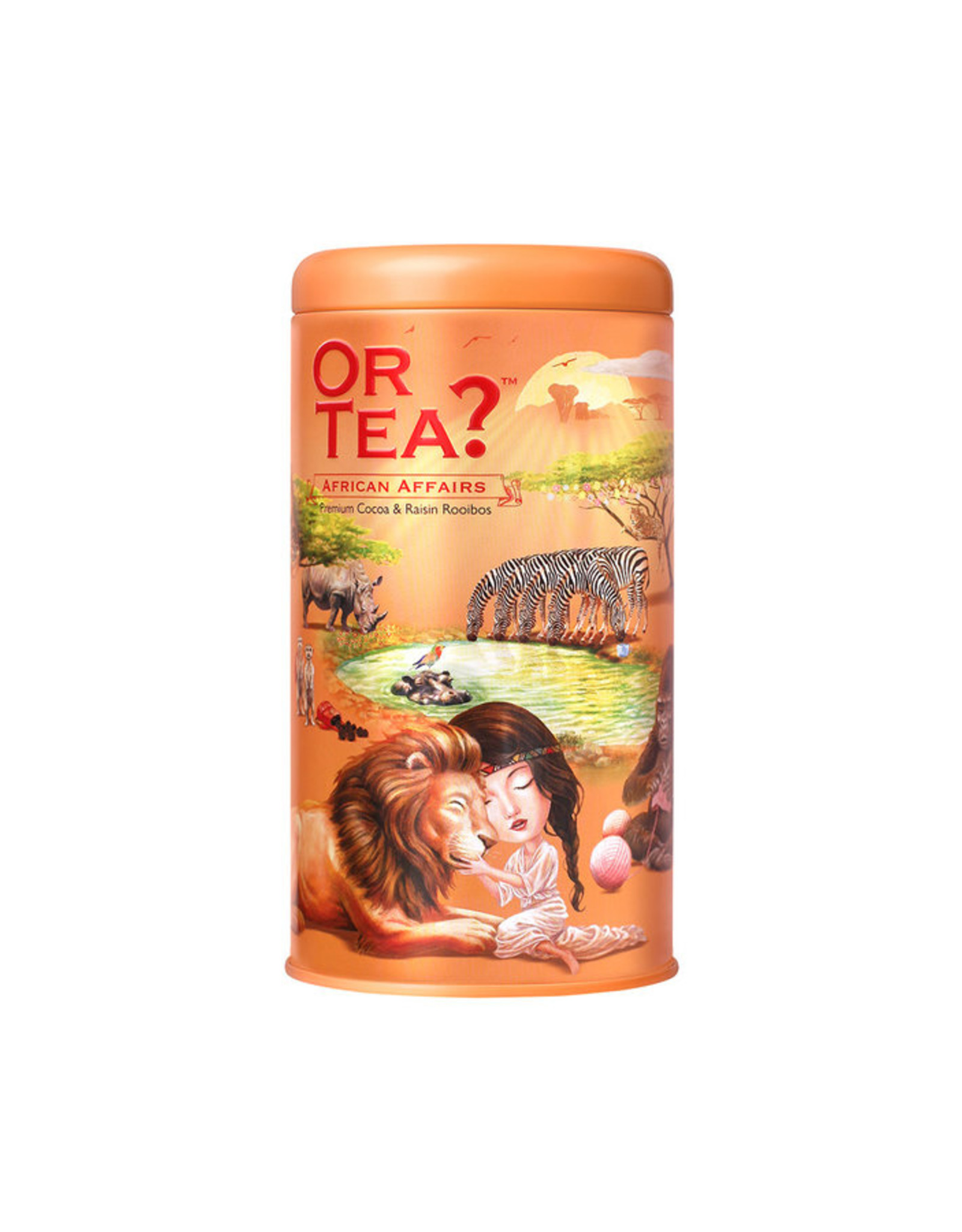 Or Tea? African Affairs - Tin Canister