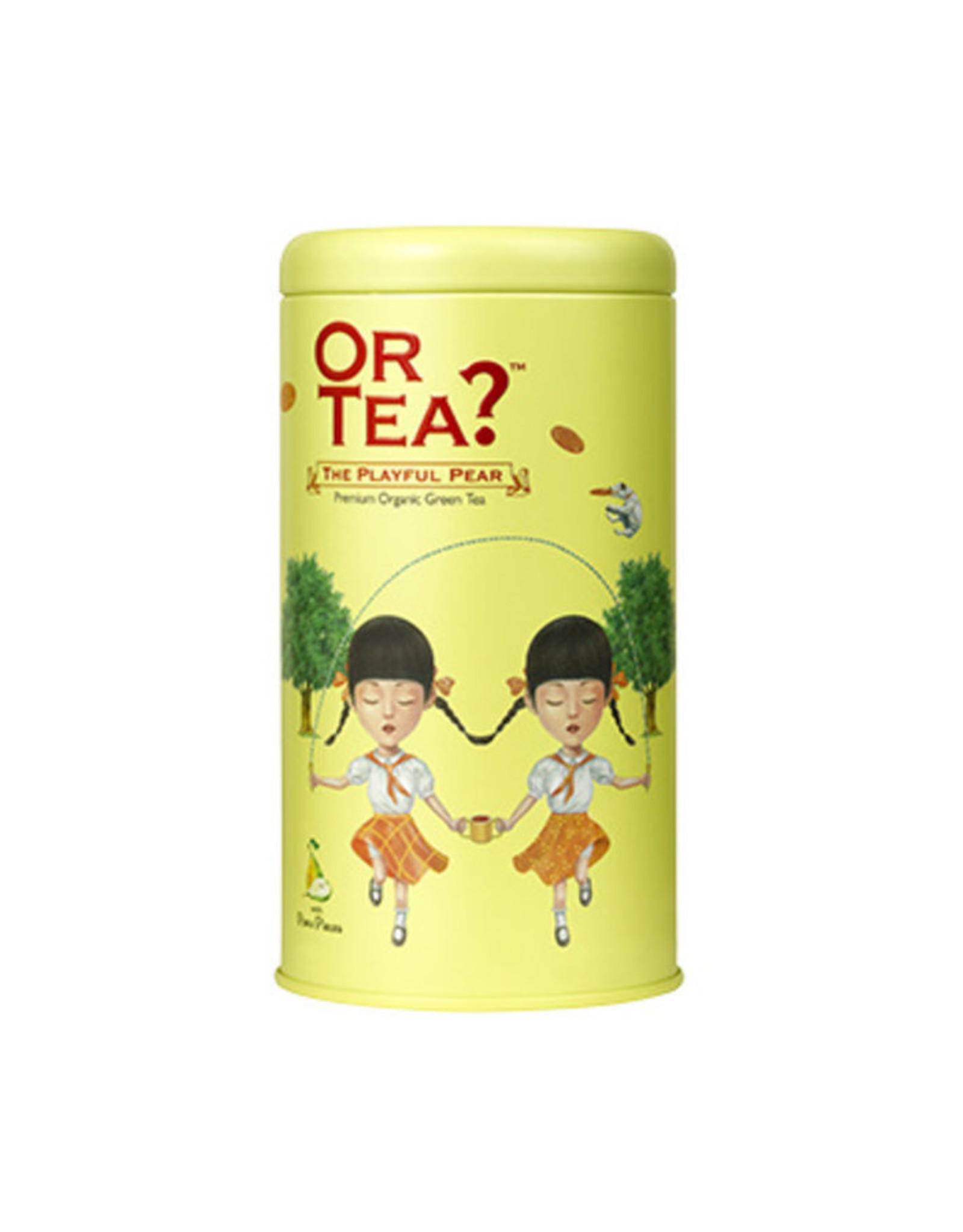 Or Tea? Organic The Playful Pear - Tin Canister