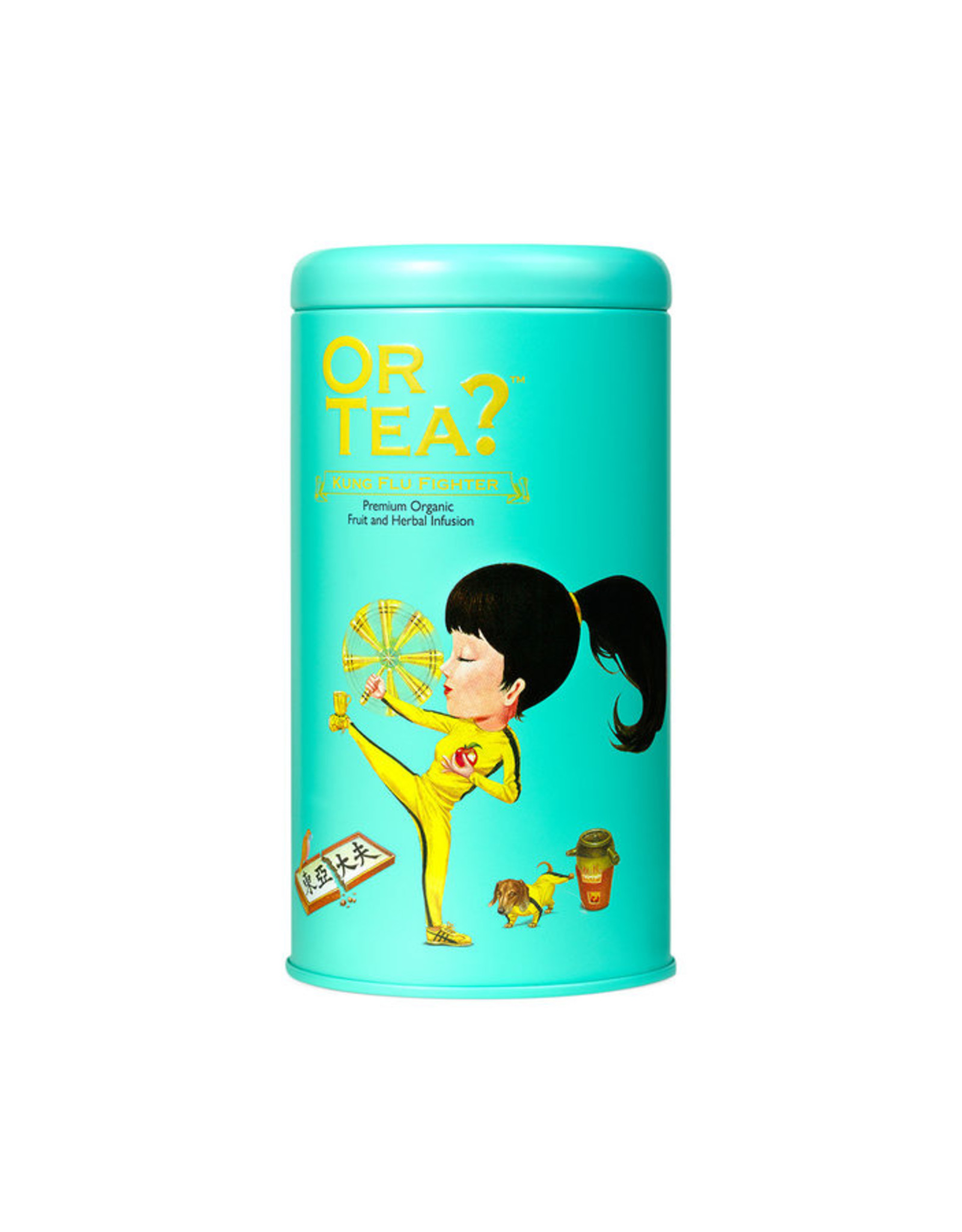 Or Tea? Organic Kung Flu Fighter - Tin Canister (Soft-Touch)
