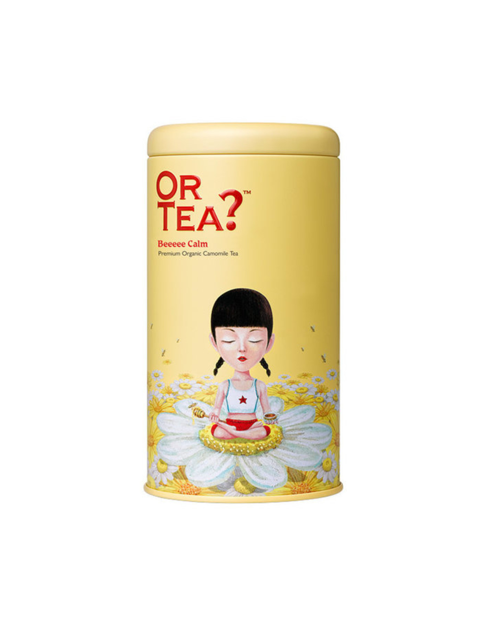 Or Tea? Organic Beeeee Calm - Tin Canister (Soft-Touch)
