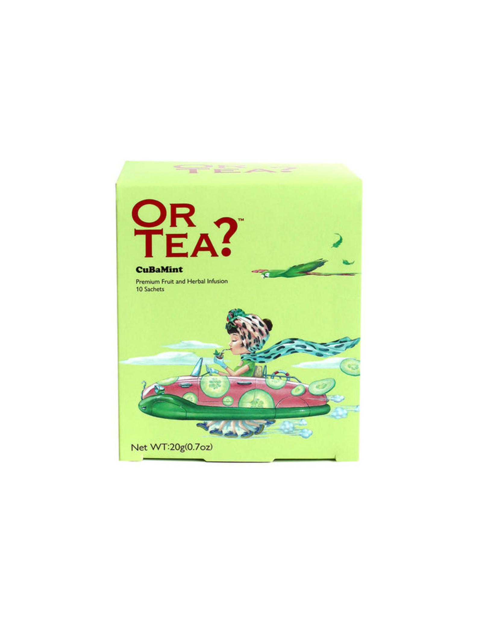 Or Tea? CuBaMint - 10-Sachet Box (Pillow)