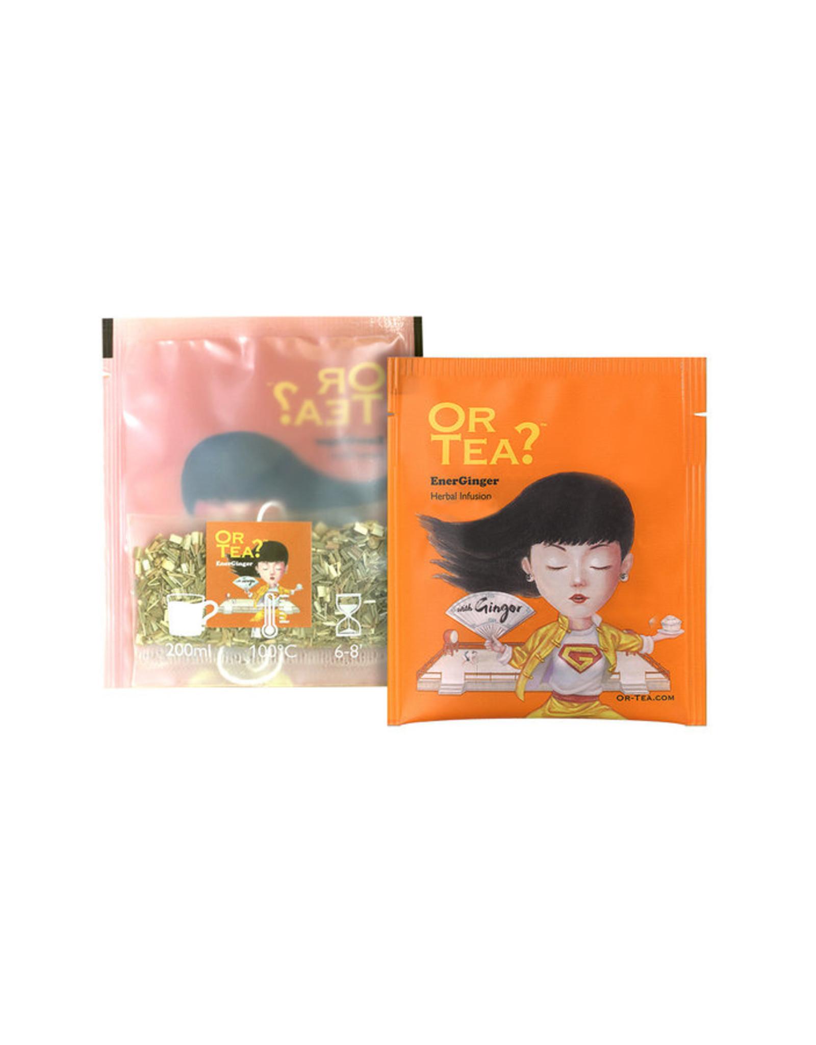 Or Tea? Organic EnerGinger - 10-Sachet Box (Pillow)