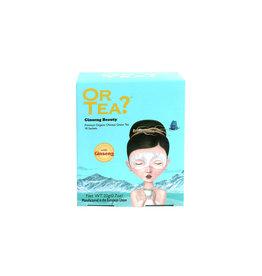 Or Tea? Organic Ginseng Beauty - 10-Sachet Box (Pillow)